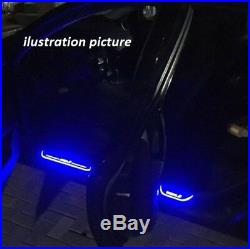 Ford universal LED Door Sill Cuff plate panel Light 4pcs white color