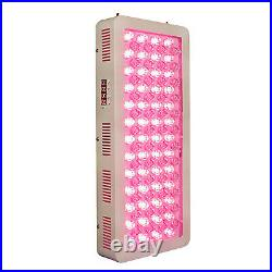 Full Body X500W LED Red Near Infrared Light Therapy 660nm 850nm Time Setting