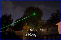 Green Laser & white LED light Combination Unit. Use either or both together
