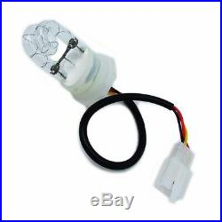 Hide-A-Way 120W 6 White HID Bulbs Emergency Strobe Light Rear/front Beacon Light