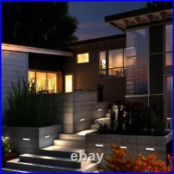 LED Brick Light Wall Light Recessed Stainless Steel in Cool White IP68
