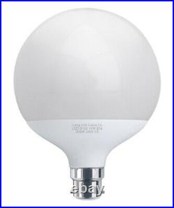 LED Globe Light Bulb 18W B22 Replacement for 162w Warm White Energy Saving G120