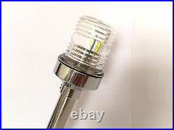 LED Stainless Steel All Round Navigation Light (White)Boat Chandlery/Boat/Yacht