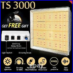 Mars Hydro Dimmable TS 3000W Led Grow Light+5'x5' Indoor Grow Tent Kit for Plant