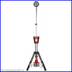 Milwaukee M18 18 Volt Cordless LED Tripod Stand Contractors Work Light Bare Tool
