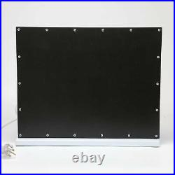 Mirror Vanity LED Light 15 Bulbs Makeup Dress-up Touch Control Dimmable Mirrors