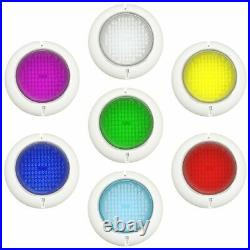 NEW Swimming Pool Resin Filled Light RGB 105 LED Ultra Bright Retro Fit