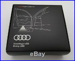 New Design Audi Rings Puddle Light Beam 4g0052133g Set Of Two New Oem