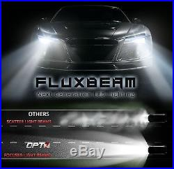 OPT7 60w 9006 LED Headlight Bulbs Pair 6000K White Light HID Replacement