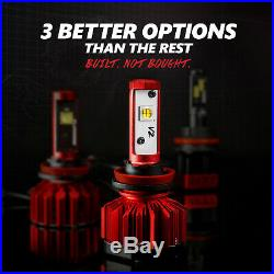 OPT7 60w H11 H8 H9 LED Fog Light Bulbs 6000K CREE White HID Replacement