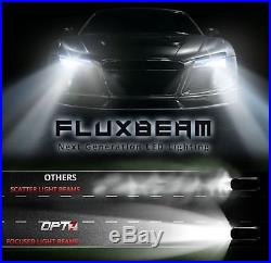 OPT7 60w H11 H8 H9 LED Headlight Bulbs Pair 6000K White Light HID Replacement