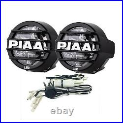 PIAA 05370 LED LP530 LED Fog Kit with Two White Fog Lights/Harness/Fuse/Switch
