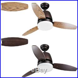 PRE-SALE 42 Indoor Ceiling Fan with LED Light Kit 3 Blades Remote Control Color