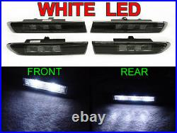 Plug & Play White LED Smoke Side Marker Light For 07-08 Acura TL Type S Only