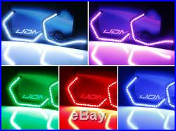 RGB Multi-Color Concept M4 Iconic Style LED Angel Eye Kit withRelay Wiring For BMW