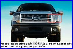 RGB Multi-Color LED Angel Eyes Halo Rings For Ford 09-14 F150, 10-14 F150 Raptor