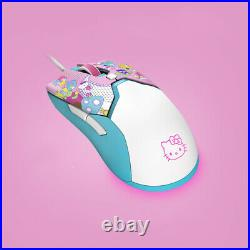 Razer Viper Mini Wired Gaming Mouse Sanrio Hellokitty Little Twin Star With Pad