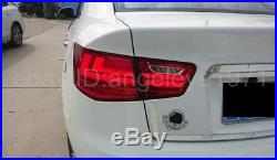 Rear lights For KIA Cerato Forte Sedan LED Tail Lamps 2009-2013 year Red White