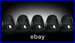 Recon Smoked Cab Roof Lights with White LEDs Fits 04-14 Dodge Ram 2500 3500