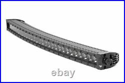 Rough Country 30 Single Row Curved Light Bar CREE LED 12,000 Lumens