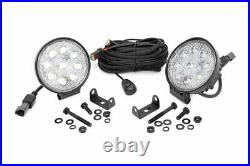 Rough Country 4 LED Round Offroad Lights (Pair) 70804