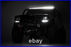 Rough Country 50 Single Row Curved CREE LED Light Bar