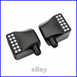 Side View Led Mirrors For 07-17 Jeep Wrangler JK Off Road Turn Signal Lights