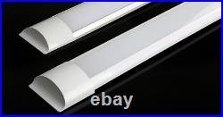 Slim LED Batten Strip Lights 2ft 4ft 5ft 4000k Natural White Garage Office Shed