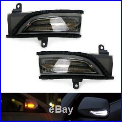 Smoked Lens Switchback Sequential Flash LED Side Mirror Turn Signal For Subaru