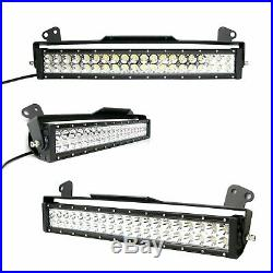 Strobe Function Lower Grill LED Ligth Bar with Bracket Wire For 11-16 Ford F250