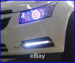 Switchback LED Daytime Running Lights/Turn Signal Bezels For 2011-14 Chevy Cruze