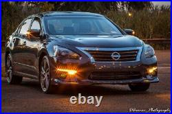 Switchback LED Daytime Running Lights with Yellow Fog Lamps Kit For Nissan Altima