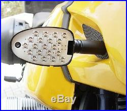 Weisse LED Blinker BMW R 850 GS R 1100 GS R 1150 GS clear LED signals indicators