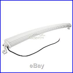 White 50Inch CREE Curved 672W Led Work Light Bar Combo Offroad 4WD ATV UTE 52